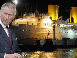 Geceyi savaş gemisinde geçirdi