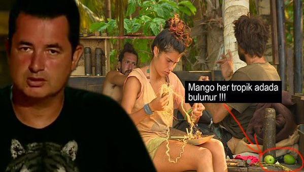Acun Ilıcalıyı kızdıran mango yorumu
