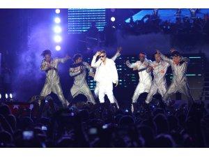 Justin Bieber ın konseri de olay oldu