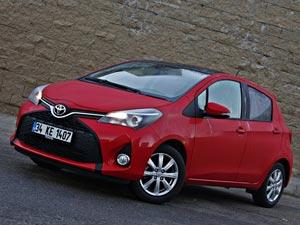 Rekabetçi minik Toyota Yaris