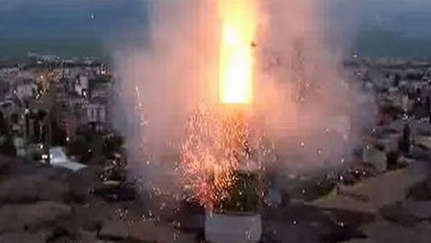 İftarda inanılmaz olay: Ramazan topu kör etti