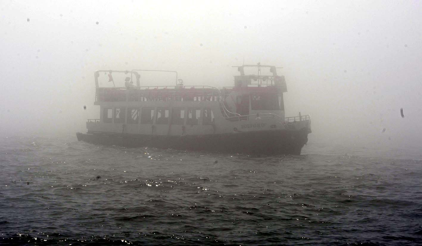 İstanbulda sis etkili oldu