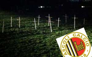 Stadı mezarlığa çevirdiler