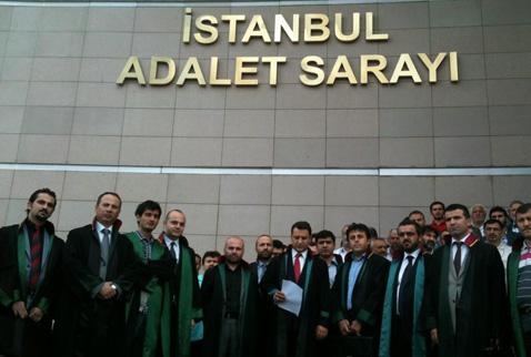 İstanbul Adliyesinde basın açıklaması yasaklandı!