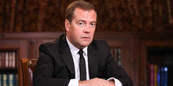Rusya Başbakanı yaptırımları imzaladı