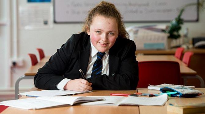 13 yaşındaki kız Einsteini solladı