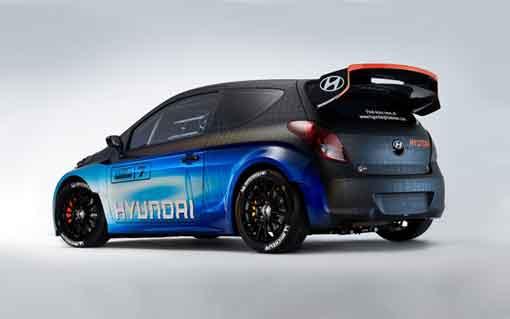 Hyundai i20 WRCnin son hali tanıtıldı