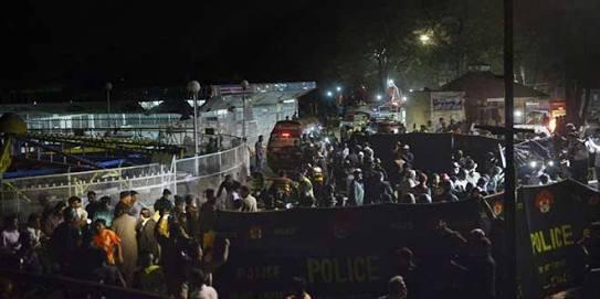 Lünaparkta canlı bomba saldırısı: 65 ölü