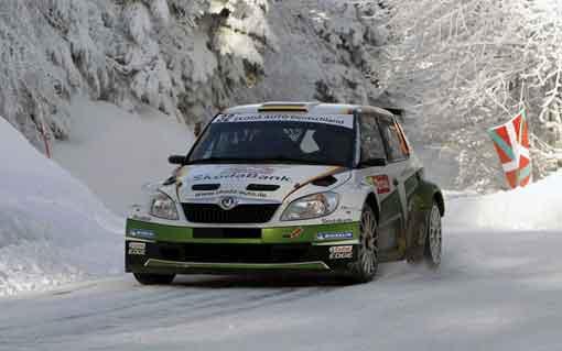 Skoda WRC iyi başladı