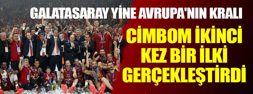 Galatasaray ikinci kez bir ilki gerçekleştirdi