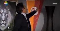 Galatasaray bayrağı çöpe atıldı!