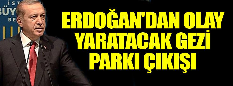 Gezi Parkı yeniden hortladı