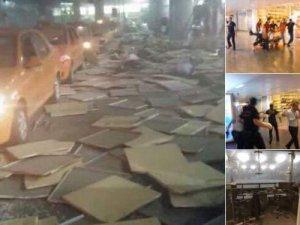 Atatürk Havalimanında patlama...28 şehit