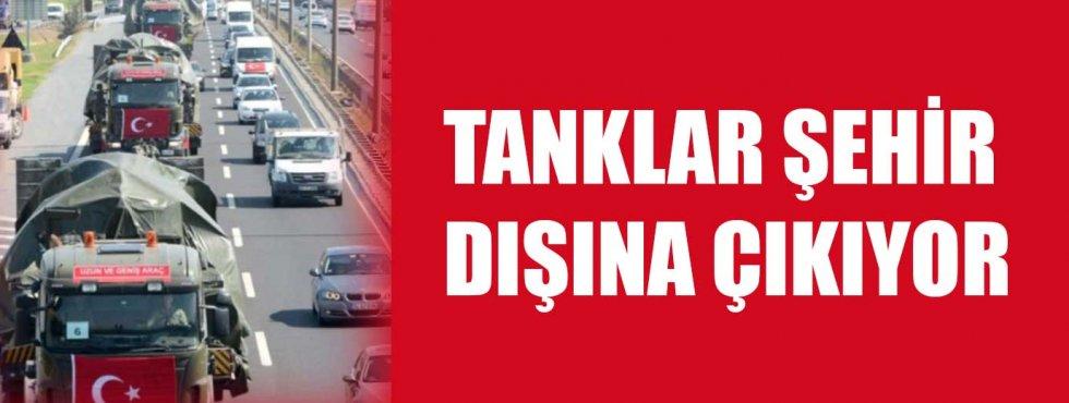 Tanklar şehir dışına taşınıyor