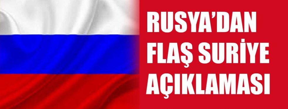 Rusyadan flaş açıklama