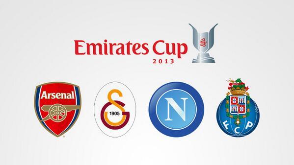 Arsenal açıkladı! Galatasaray resmen Emirates Cupta