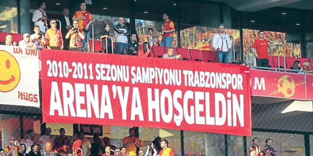Şampiyon Trabzonspor Arenaya hoşgeldin
