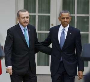 Başbakan Erdoğan Beyaz Sarayda