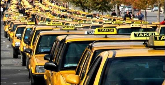 Taksilerden bagaj ücreti kazığı