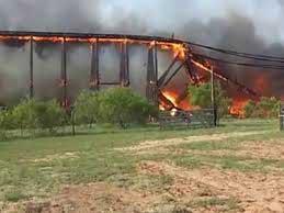 Dev köprü böyle yandı