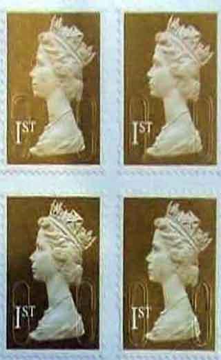 Sahte İngiliz Kraliyet pullarını basmışlar!
