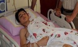 Polisin copladığı çocuğun bacağı kırıldı