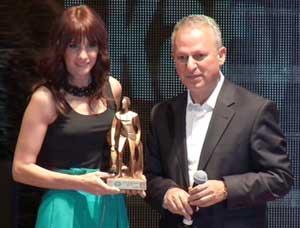 Esra Erol, yılın en iyisi seçildi!