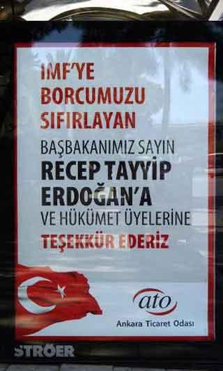 ATOnun İzmirdeki ilanları tartışma yarattı