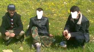 El Kaidenin elinden polis kurtardı