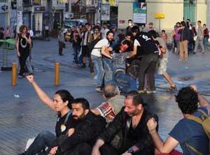 Polisten, Gezi direnişine ikinci şafak baskını
