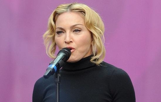 Madonnanın şiş yüzüne tepki