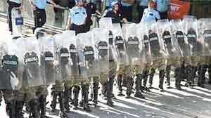 Kızılayda Taksim gerginliği