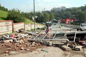 Taksim yolları kapalı