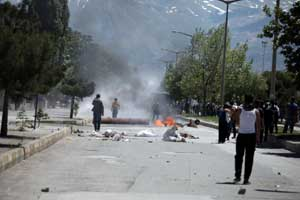 Yavuz Sultan Selim ismini protesto gösterisinde olaylar çıktı