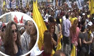 Binlerce kişi Taksim Meydanında!