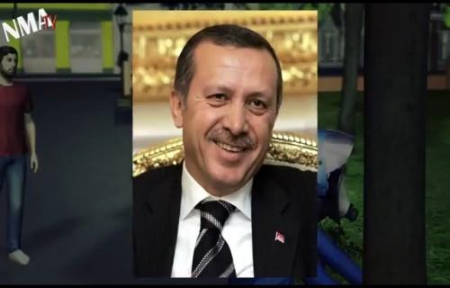 Erdoğanı kızdıracak animasyon!