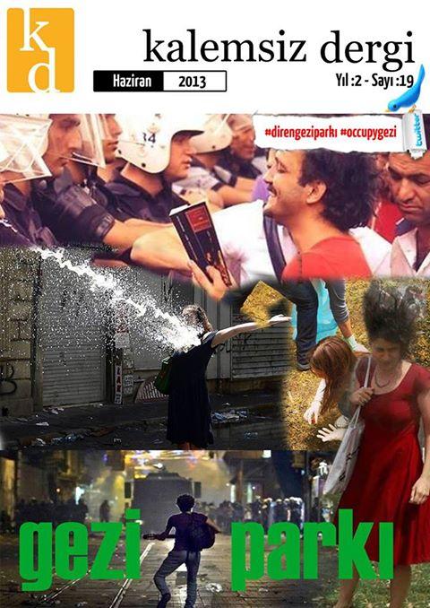 Kalemsiz Dergiden Gezi Parkı Duyarlılığı!