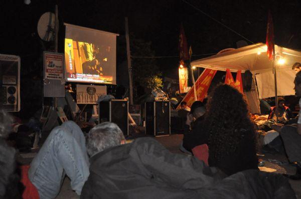 Gezi Parkı Erdoğanı böyle dinledi