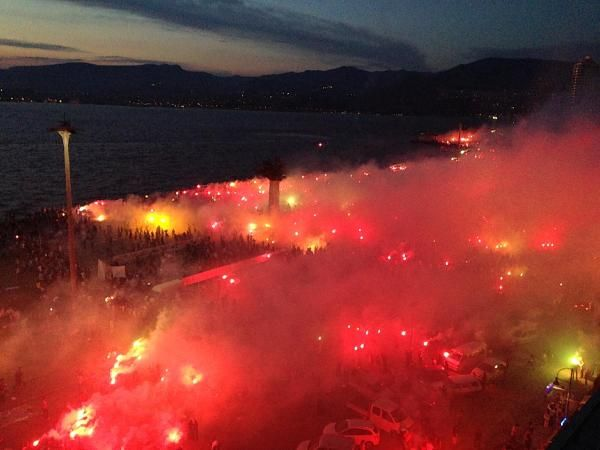 İzmirde görsel şölen