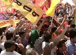 Gündoğduda PKK gerginliği