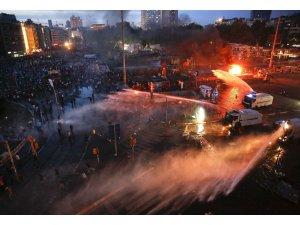 Taksim alev alev yanıyor...Gelişmeler endişe verici!