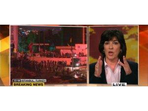 Ünlü haberci  Christiane Amanpour :Bayım show bitti