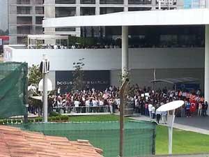 NTV önünde yine protesto