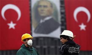 Gezi Parkında maske takanlara gözaltı!