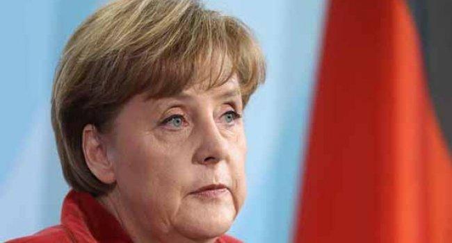 Angela Merkel dehşete düşmüş