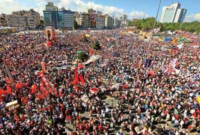 Saat 19.00da Taksimde buluşalım çağrısı yapıldı