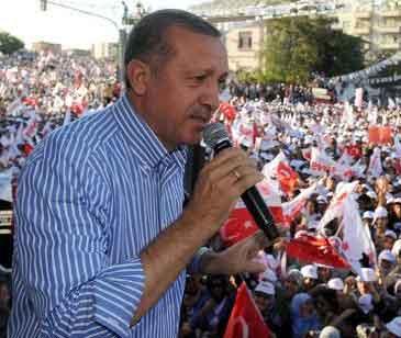 Erdoğan Samsun mitinginde