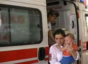 10 aylık bebeğin mucize kurtuluşu