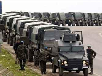 Jandarma birlikleri sınırdan çekildi