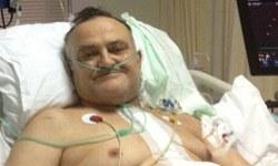 Saygun Paşa yine hastanede